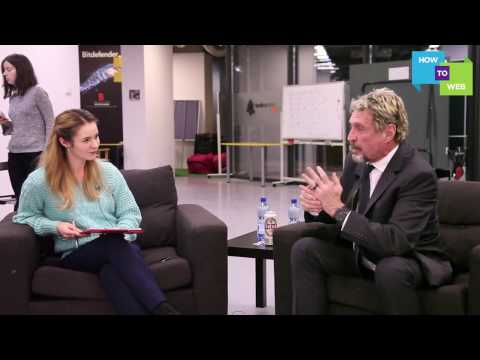 John McAfee: about blockchain, bitcoins and cyber security (видео)
