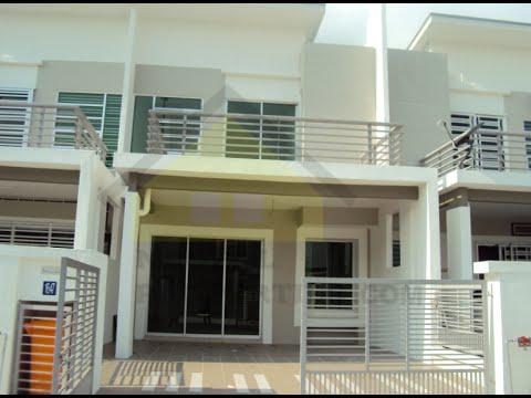 Sold: Double Storey Terrace house in Nusari Bayu 2, Bandar Sri Sendayan,Malaysia.