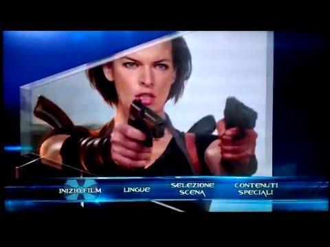 Resident Evil: Retribution - (2012) - Blu-ray Menu