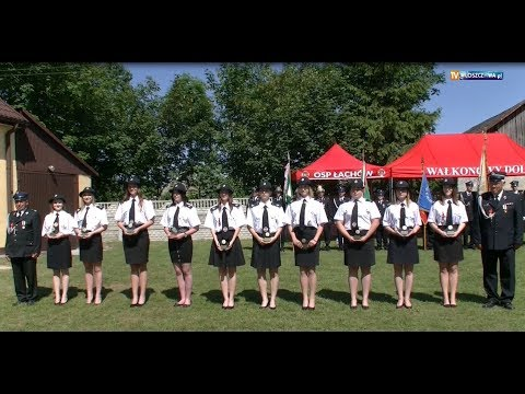 Odznaczeni Strażacy podczas Jubileuszu 90 lat istnienia OSP Łachów