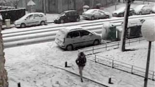 Cerdanyola del Valles Spain  city pictures gallery : Snow in Cerdanyola del Vallès, Catalonia, Spain