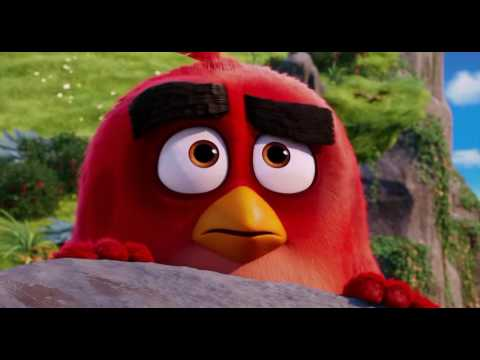 The Angry Birds Movie (2016) Mighty Eagle Scene