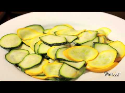Lemon Pepper Zucchini Chips - Microwave Recipe