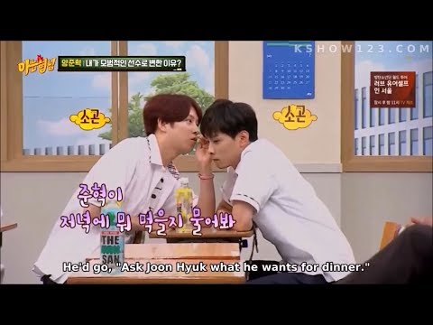 Kyunghoon and Heechul moments on Knowing Bros 2019 part 2