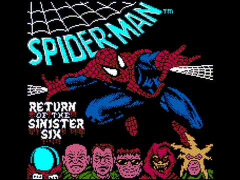 Spider-Man : Return of the Sinister Six Game Gear