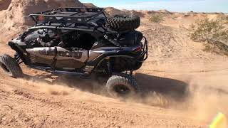 9. Can-Am X3 Max Full Throttle in the Badlands