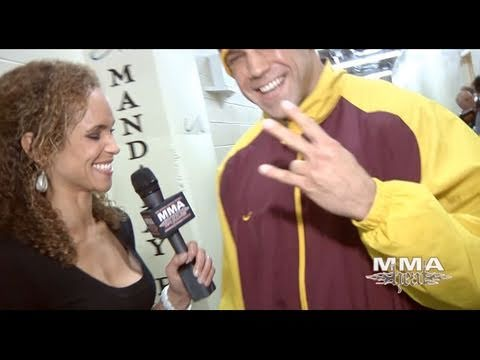 UFC 126 Kyle Kingsbury PostFight Interview