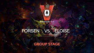 Eloise vs Forsen, game 1