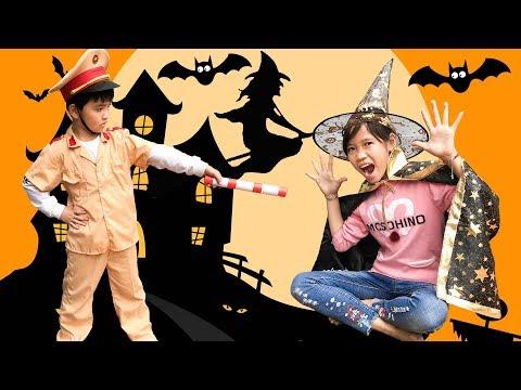 Trò Chơi Mụ Phù Thủy Độc Ác Và Cảnh Sát Tốt Bụng ♥ Min Min TV Minh Khoa - Thời lượng: 10:05.