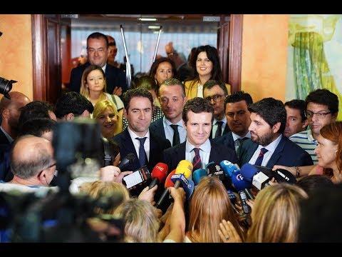 """Pablo Casado: """"seguiremos tendiendo la mano al PSOE para los Pactos de Estado"""""""