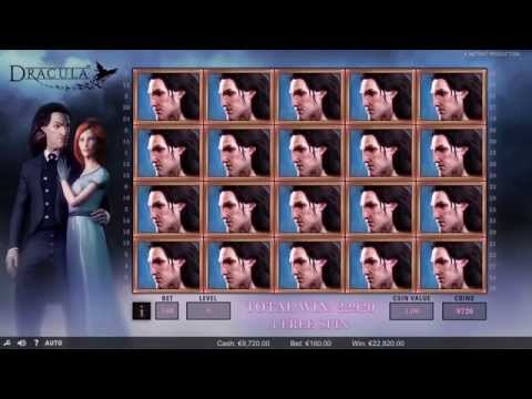 Dracula Online Slot NetEnt - Promo