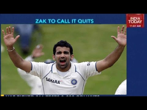 Indian Cricketer Zaheer Khan To Announce Retirement Today