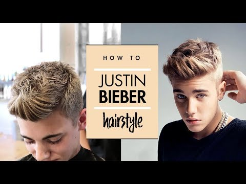 Justin Bieber hair | Celebrity hairstyle for men | By Vilain Gold digger