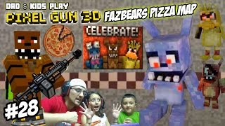 Nonton Dad & Kids play PIXEL GUN 3D! Freddy Fazbears Pizza Map! SCARY PIZZERIA w/ David After Dentist? FNAF Film Subtitle Indonesia Streaming Movie Download