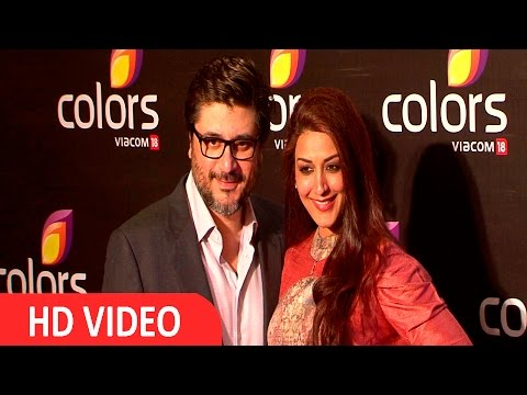 Sonali Bendre Behl At Colors Annual Party