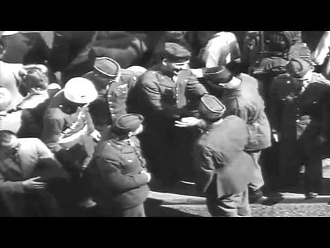 V-E Day In Piccadilly, London, England, 5/8/1945 (full)