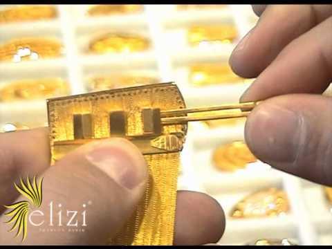 Hasır bilezik trabzon hasırı değişken toka Mücevher altın bilezik Elizi