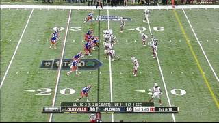 Adrian Bushell vs Florida (2012 Bowl)