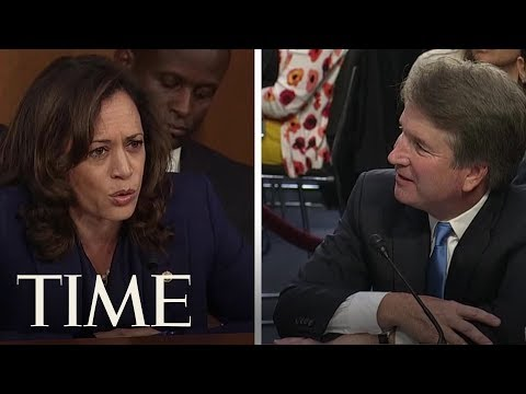 Kamala Harris Corners Brett Kavanaugh On A Question About The Mueller Investigation | TIME