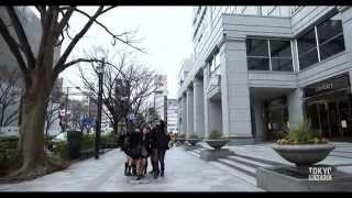 Walking Backwards Through Tokyo In Reverse