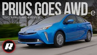 Toyota Prius AWD-e Review: More traction, same great efficiency by Roadshow