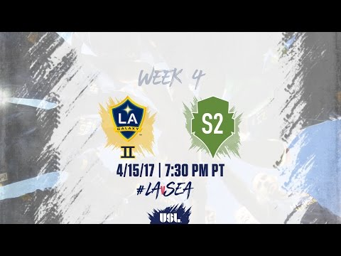LA Galaxy II Aim to Get Back in Win Column Against Seattle Sounders 2