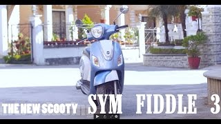 6. ‹‹›› the new scooter in town ‹‹›› SYM FIDDLE 3 ‹› first look + ukaalo test
