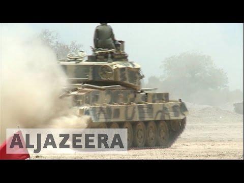 Nigerian army in 'final push' to remove Boko Haram