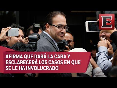 Javier Duarte buscará defenderse de acusaciones de corrupción