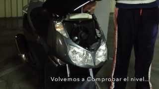 9. Aprilia Sportcity 250 ie Anticongelante