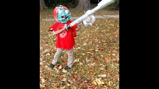 HOW TO Plants VS ZOMbIES garden warfare!! ALL STAR costume tutorial