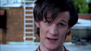"""Doctor Who Eleventh Hour """"Basically run"""" scene with A Good Man?"""