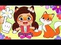BEBE LILY y KIRA 😺 Disfraz de Felicity Fox y Flick de Enchantimals | Dibujos animados para niños