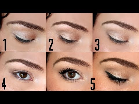 Apply - Products linked on my blog: http://bit.ly/B2BEyeshadow Check out the other Back to Basics videos! How to Contour, Blush, Highlight, & Brows: http://www.youtu...