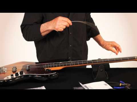 RESTRING: WITH GARY BRAWER – BASS GUITAR