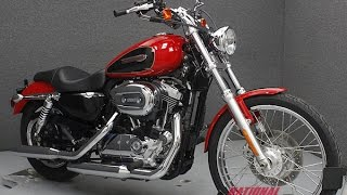 9. 2010  HARLEY DAVIDSON  XL1200C SPORTSTER 1200 CUSTOM  - National Powersports Distributors