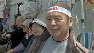 Japón: activistas antinucleares en huelga de hambre