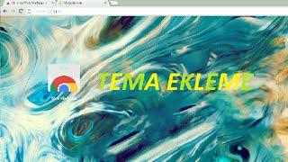 Evet arkadaşlar bu vidomda sizlere google chrome'a tema koymayı gösterdim iyi seyirler