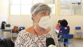 Testagem de covid-19 na comunidade escolar de Paripe