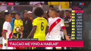 Video ¿Colombia y Perú arreglaron el empate adentro del campo? MP3, 3GP, MP4, WEBM, AVI, FLV September 2018