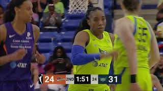 Kayla Thornton Posts Double-Double by WNBA