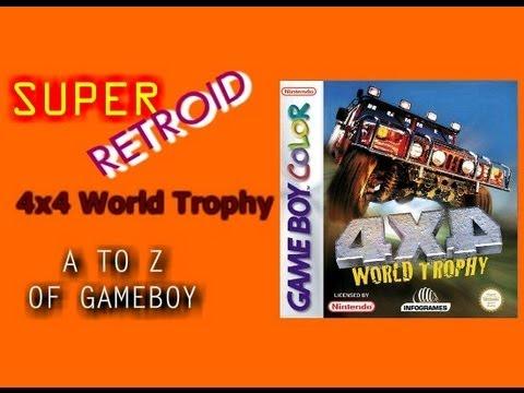 4x4 World Trophy Game Boy