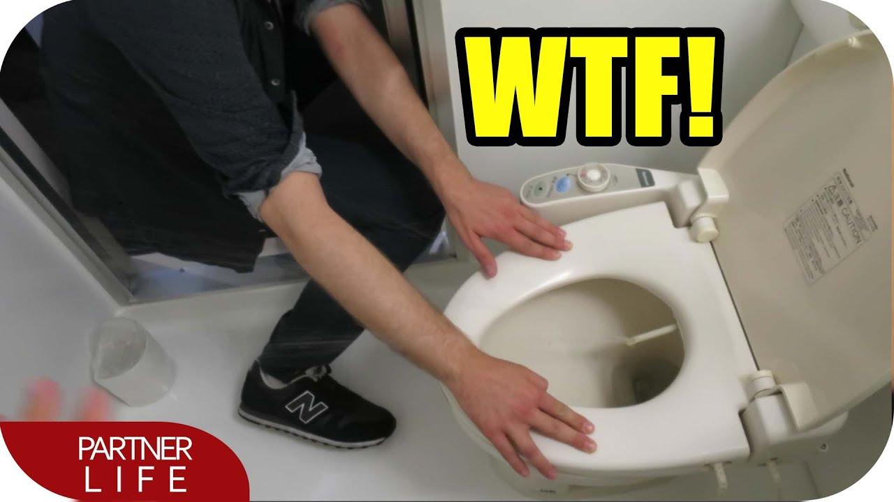 WC en Japón – Inventos raros