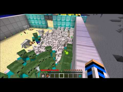 Minecraft - Wolves Vs. Zombies