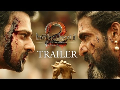 Baahubali 2 - The Conclusion movie Hindi Official Trailer Online | S.S. Rajamouli | Prabhas | Rana Daggubati