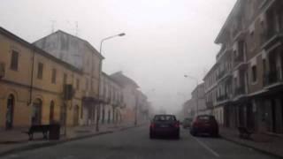 Trino Italy  city photo : Italy - Trino - Driving inside the town