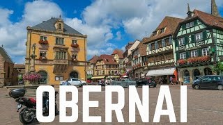 Obernai France  city photo : My Visit to Obernai, France | Alsace 2016