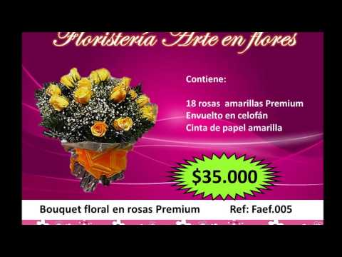 videos- floristeria arte en flores