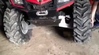 9. Can Am Outlander 2011 400 efi Fron differential test (Visco lock)