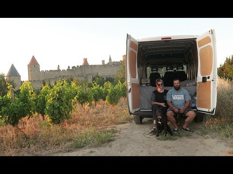 FRANCE TOUR IN OUR VAN